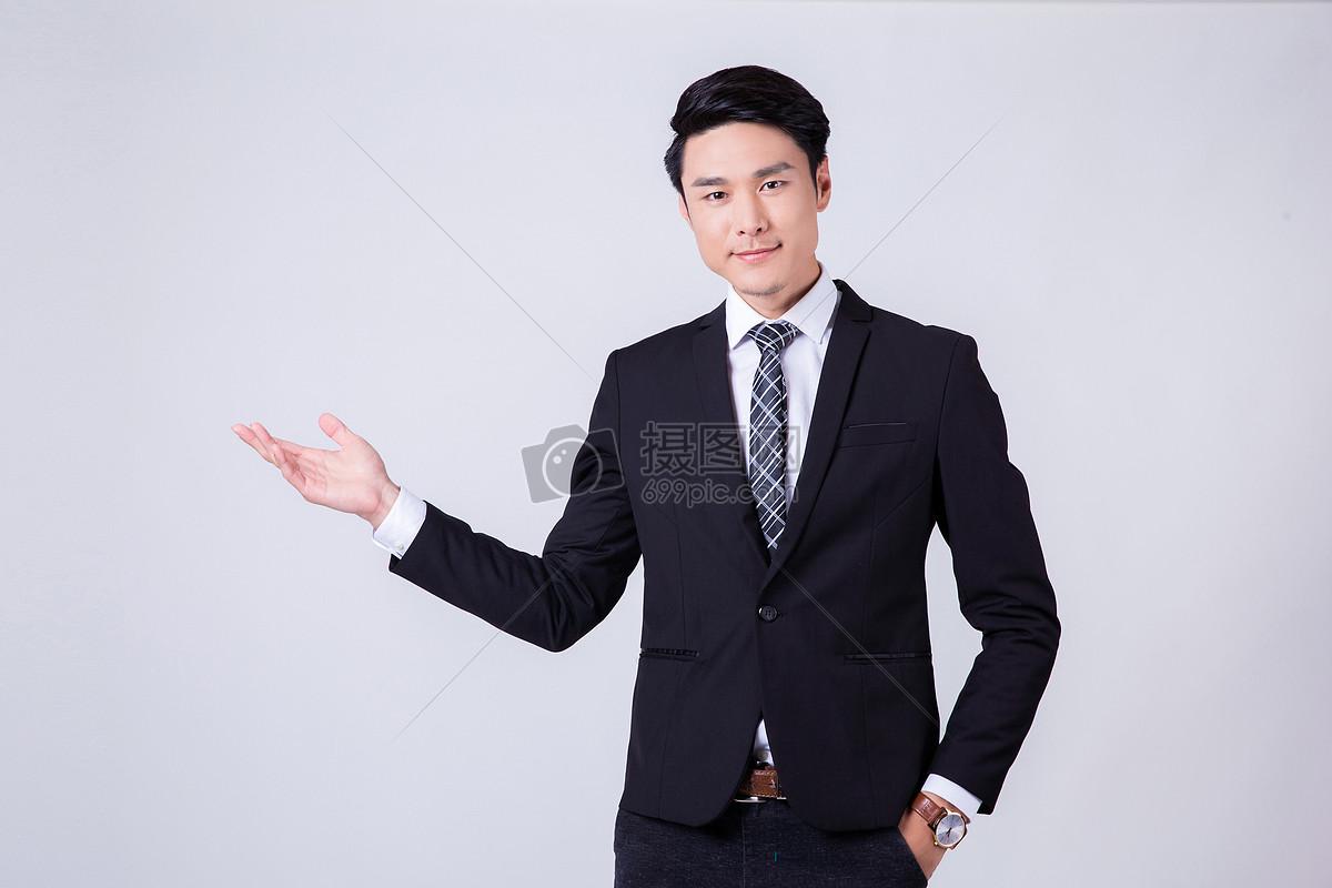 自信成功商务男士 图片素材下载 职业人物 人物图
