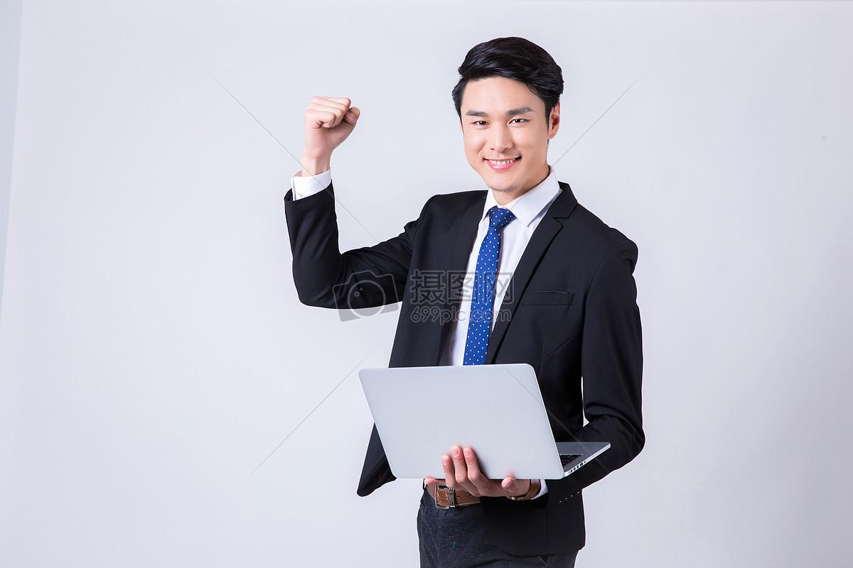 自信微笑的商务男士 图片素材下载 职业人物 人物
