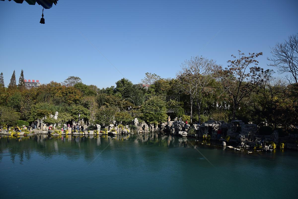 图片 照片 自然风景 济南景点 五龙潭公园jpg