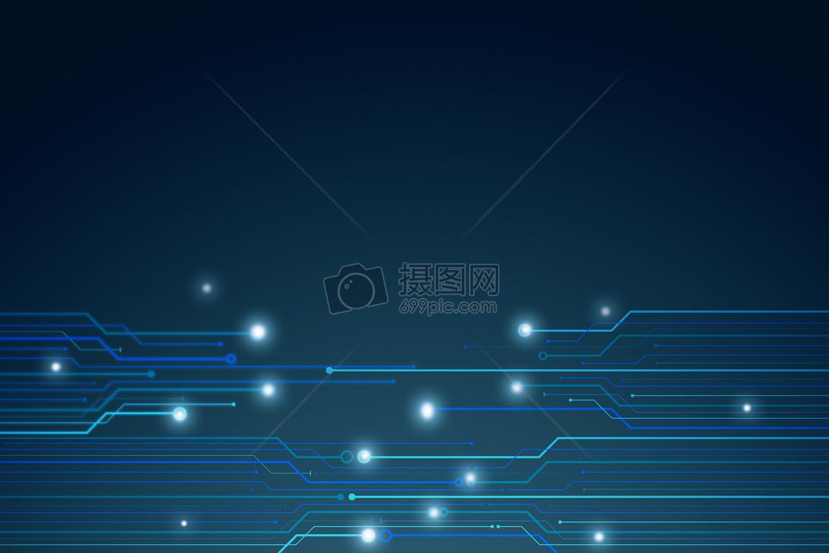 电路科技线条背景