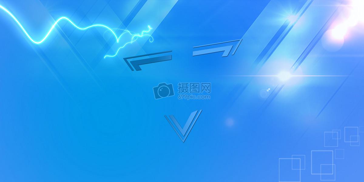 科技banner海报背景