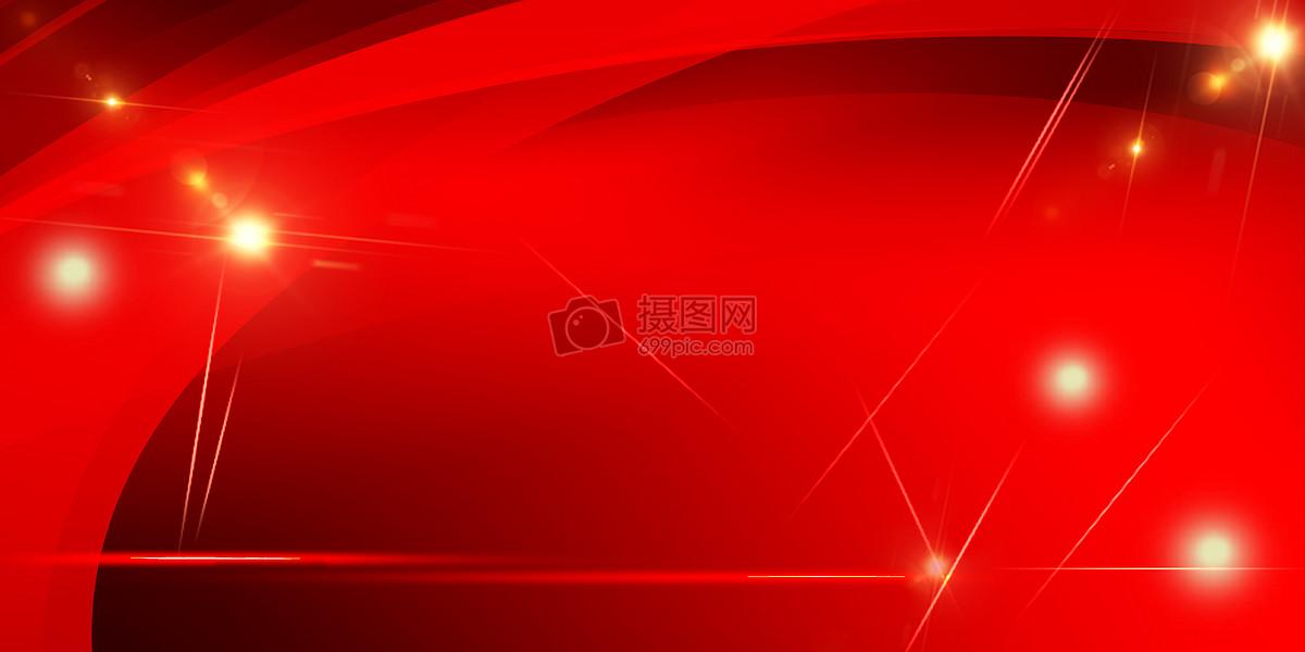 创意合成 背景素材 红色banner海报背景jpg
