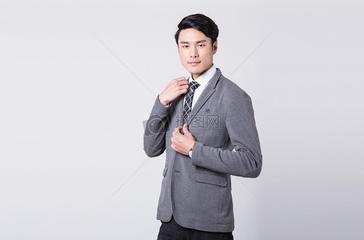 商务白领整理服装着装西装衣领图片素材_免费下载_jpg