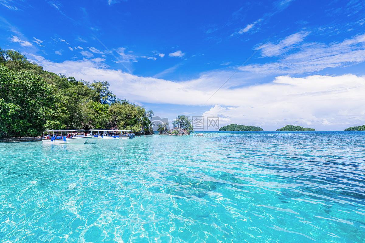 夏天海岛风景旖旎清新图片素材_免费下载_jpg图片格式_vrf高清图片