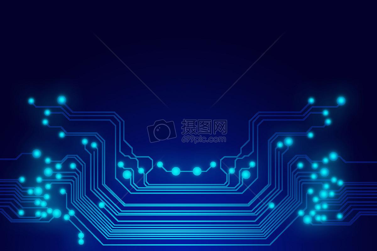 科技电路背景