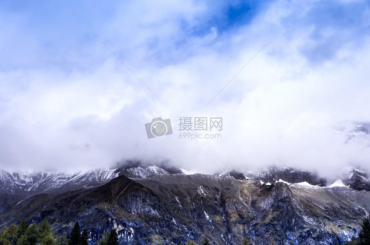四川四姑娘山风景