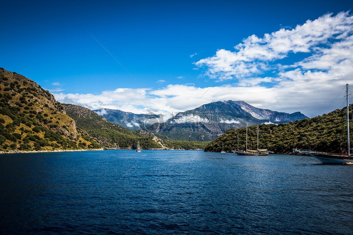 图片 照片 自然风景 土耳其爱情海.