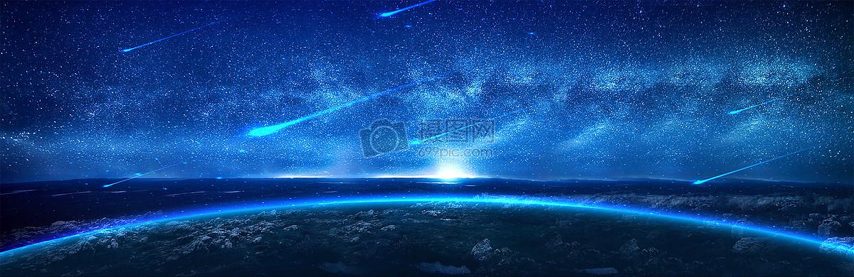 流星图片素材_免费下载_jpg图片格式_vrf高清图片_摄