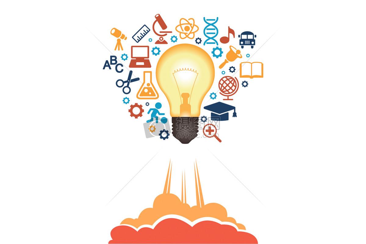 创意的想法使文明如火箭般进步