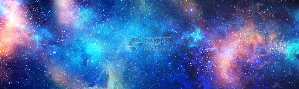 星空璀璨背景图片