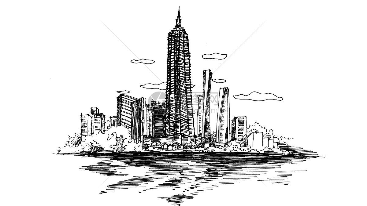 上海外滩素描