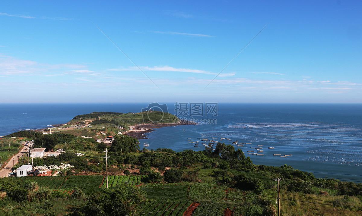 蓝色大海摄影图片免费下载_自然/风景图库大全_编号