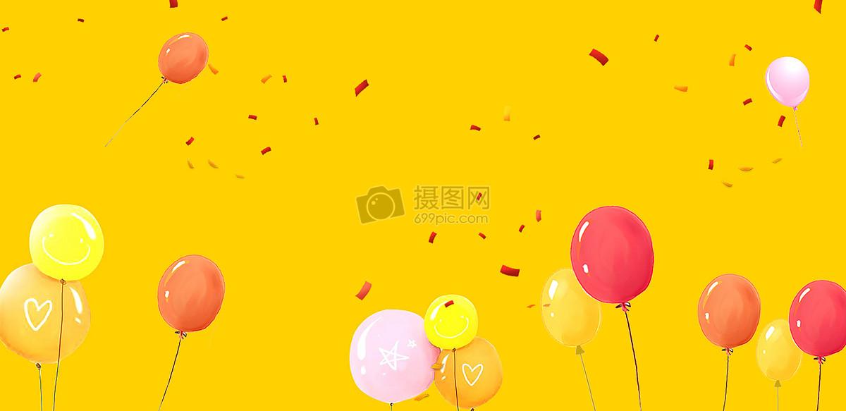 暖色气球背景图片素材_免费下载_jpg图片格式_vrf高清
