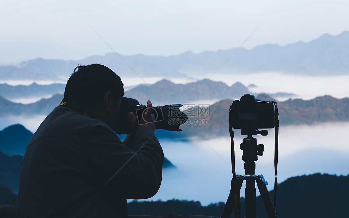 照片 自然风景 相机拍摄云海jpg