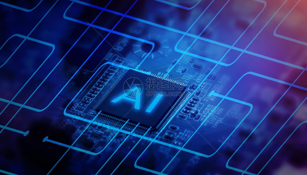 摄图网 创意合成 科学技术 电路板的传播.