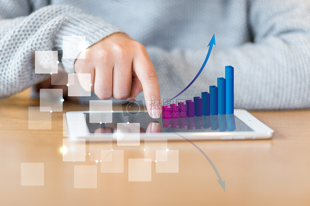 互联网信息时代平板电脑进行数据分析