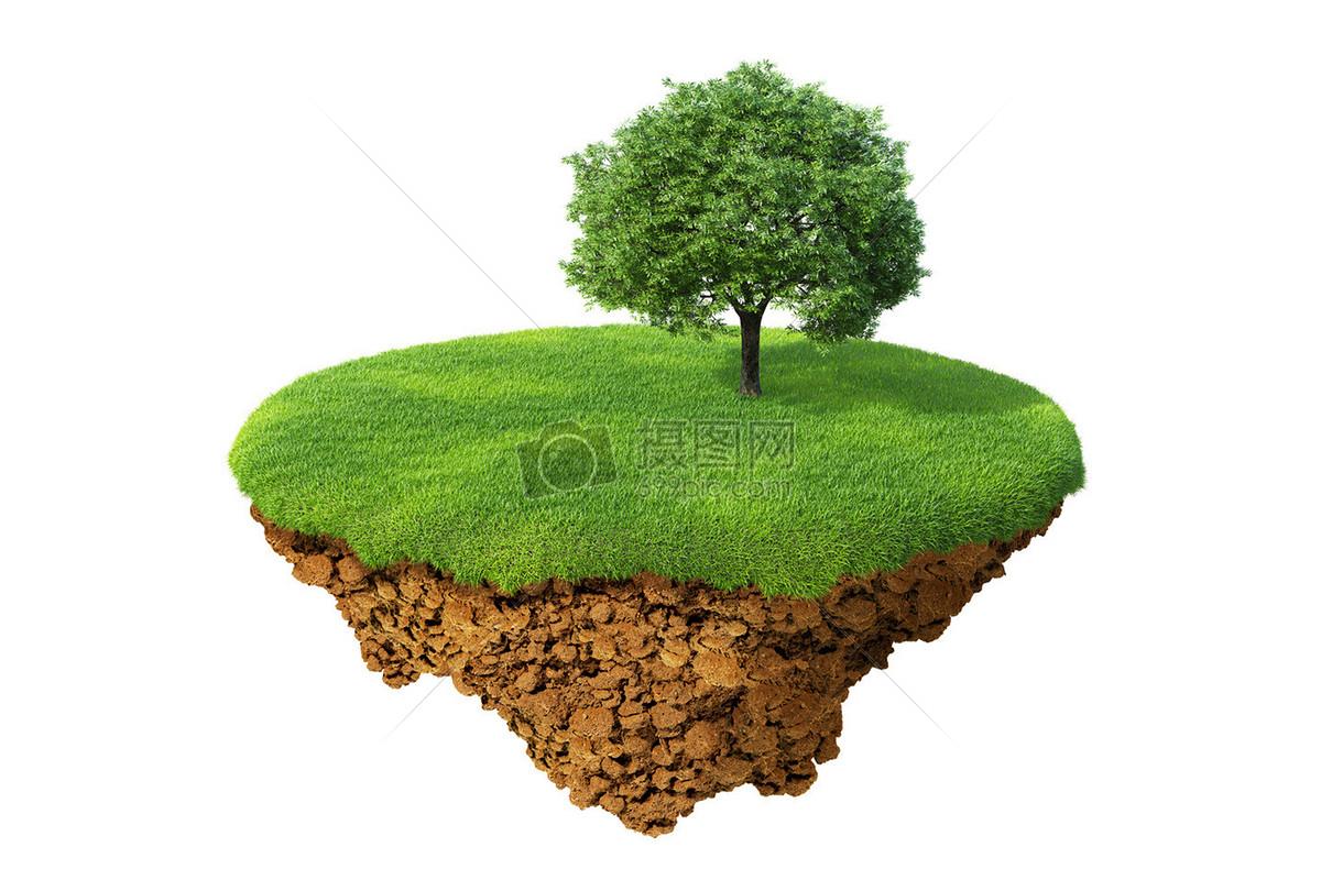 标签: 漂浮绿色草地植物悬浮大自然孤岛大树绿色悬浮岛图片绿色悬浮