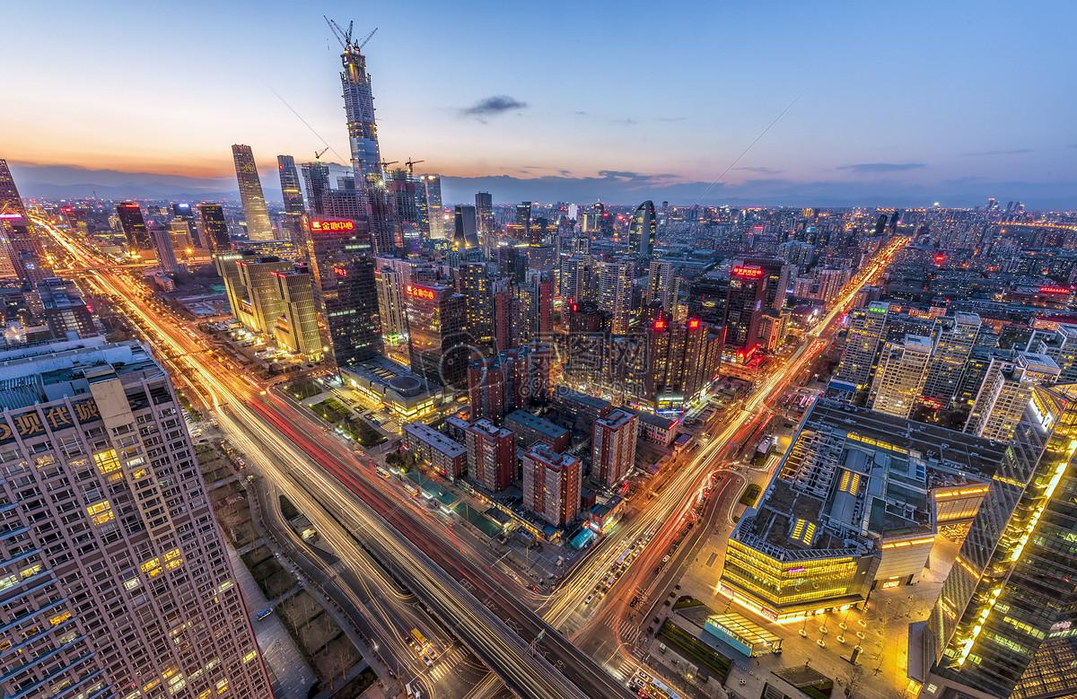 北京城市天际线