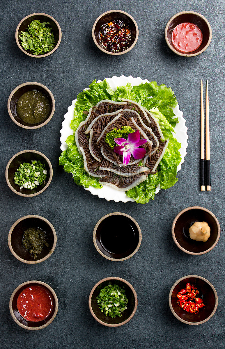 火锅食材虾滑与毛肚图片素材_免费下载_jpg图片格式