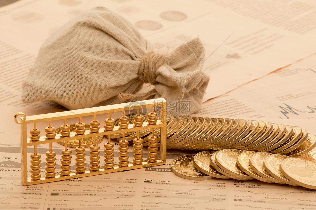 投资理财消费概念图片素材