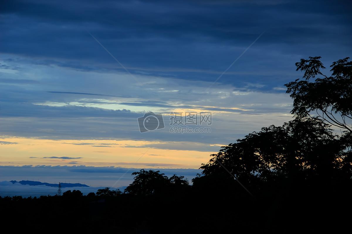 早晨的天空摄影图片免费下载_自然/风景图库大全_编号