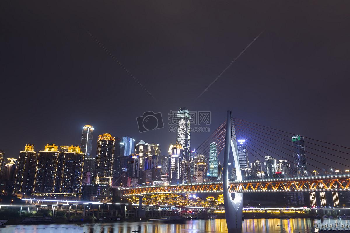 重庆夜景摄影图片免费下载_地点/地标图库大全_编号