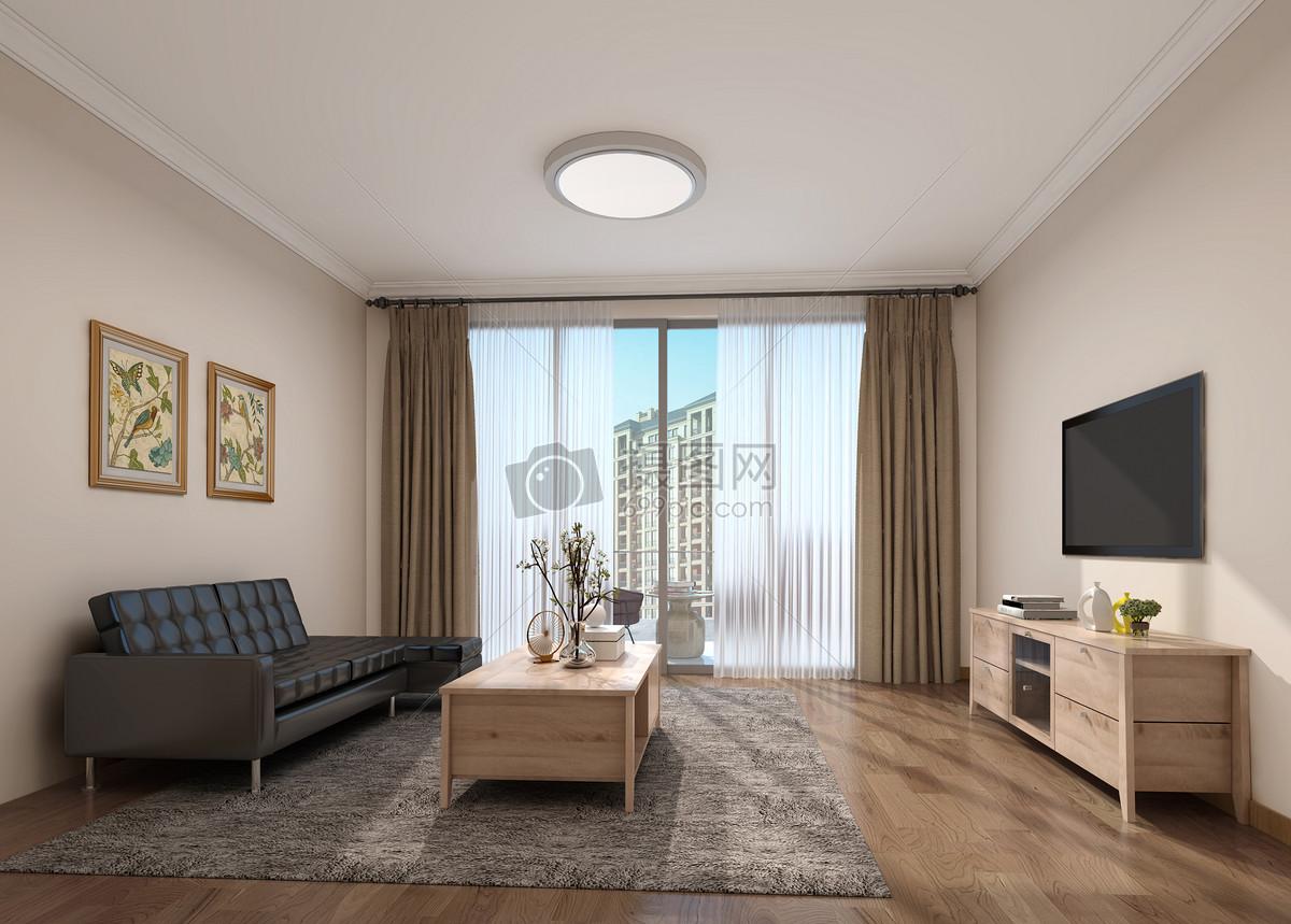 现代简约风客厅室内设计效果图图片素材 免费下载 Jpg图片格式 Vrf高清图片500502505 摄图网