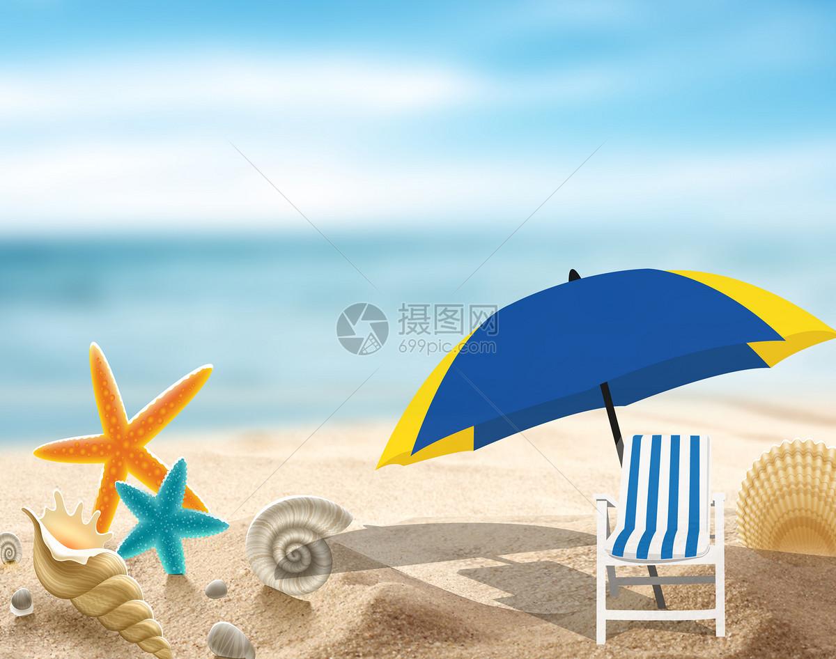 暑假海边摄影图片免费下载_假日/节日图库大全_编号