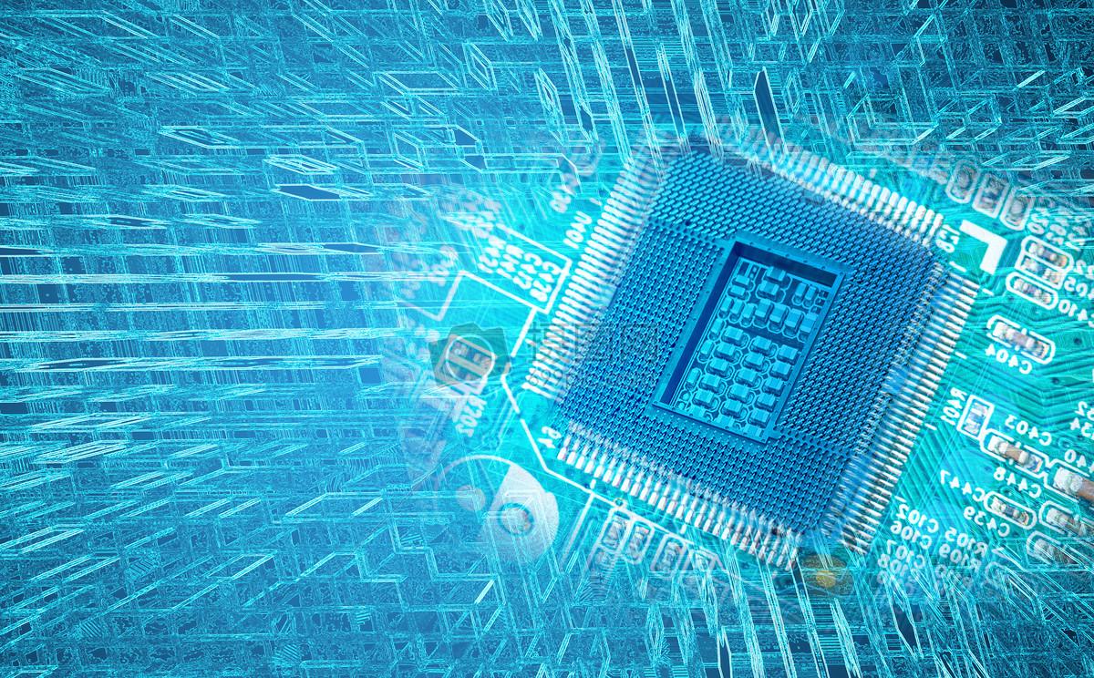 标签: 电路板电脑科幻科技芯片科技背景现代灵感技术背景人工智能
