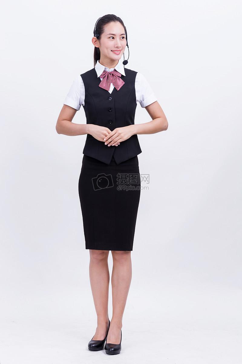 职业女性工作照片_工作客服人员客服女性女人女商务商业公司全身金融商务亲和职业女性