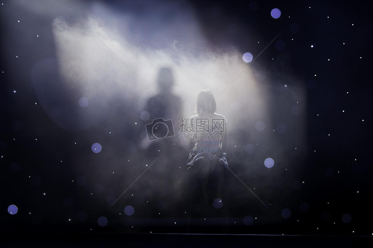 舞台表演背景素材图片