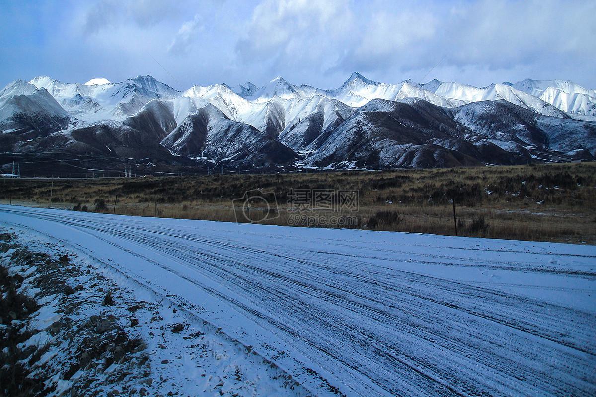 图片 照片 自然风景 青海岗什卡雪山.jpg