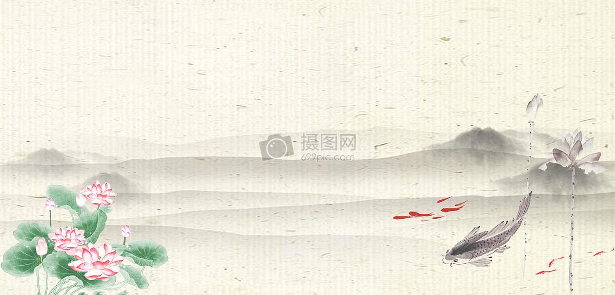 创意合成 室内家居 古风古典汉服海报banner背景jpg