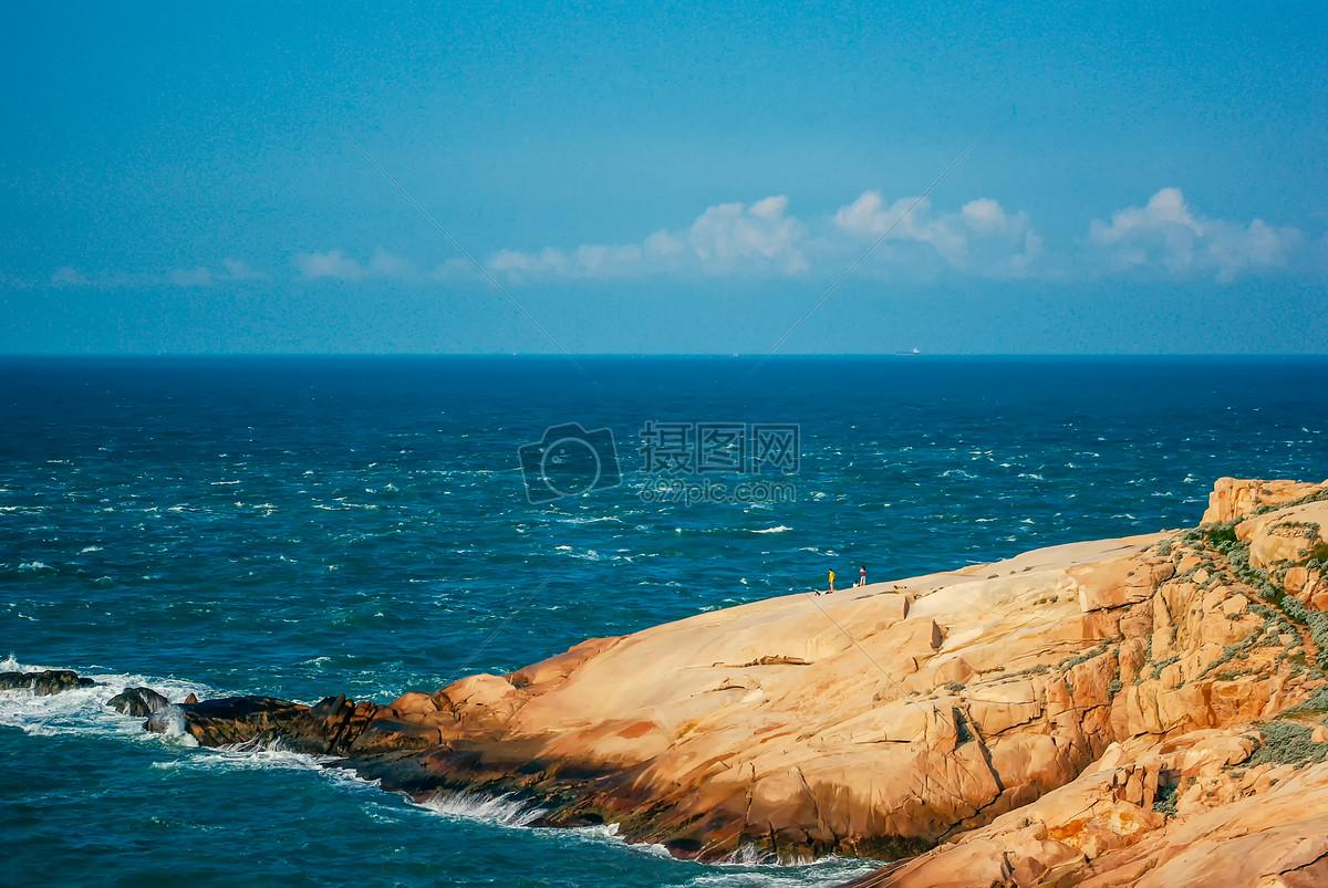东极岛风光蓝天碧海