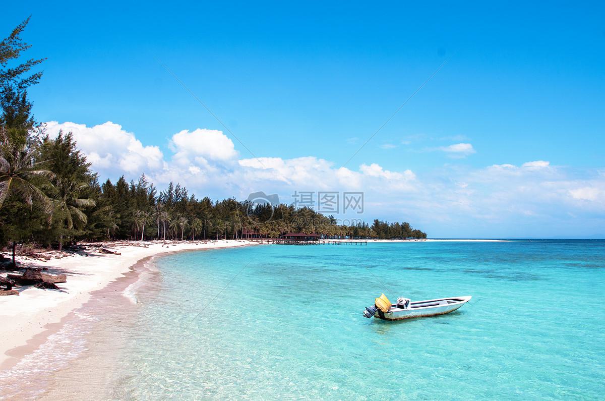 马来西亚美人鱼岛 海岛风景图片素材_免费下载_jpg__.