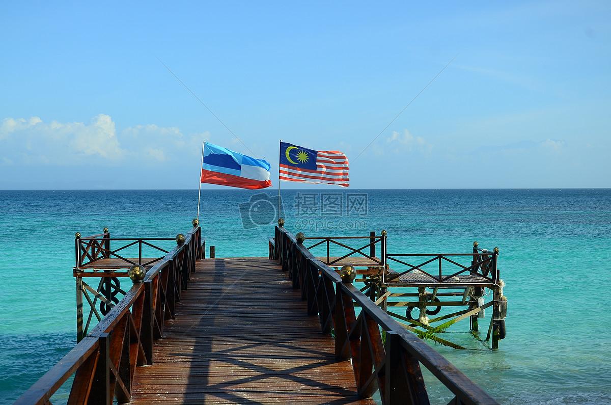 马来西亚美人鱼岛 海岛风景