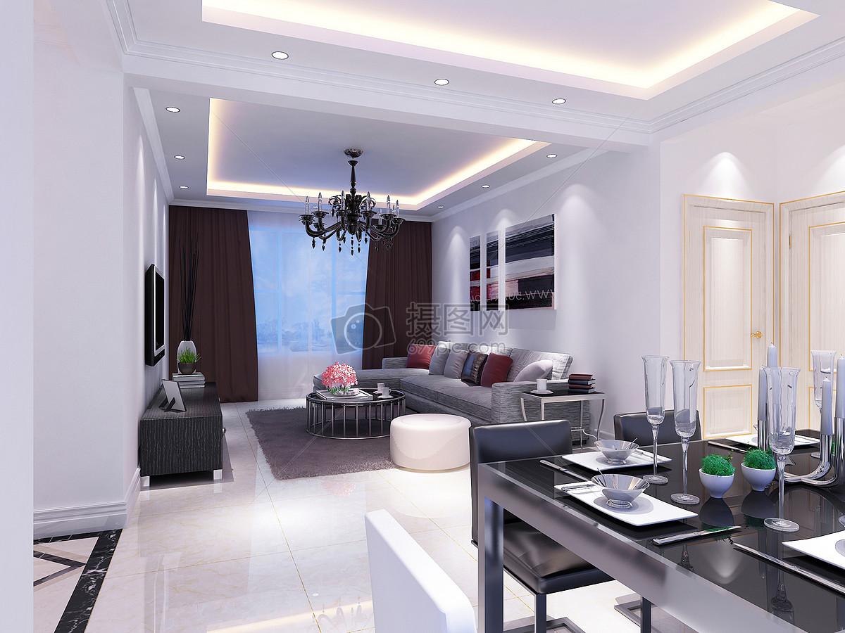 大白乳胶漆室内效果图现代客厅效果图图片现代客厅效果图图片免费下载