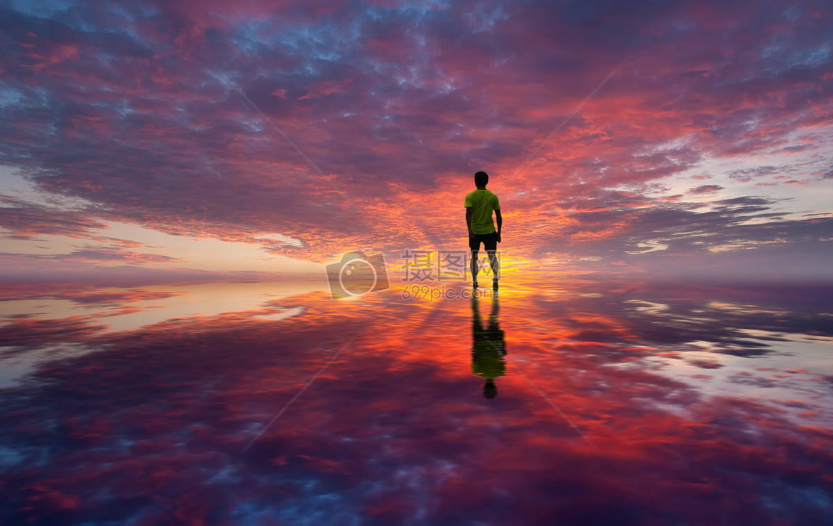 一个人的夕阳