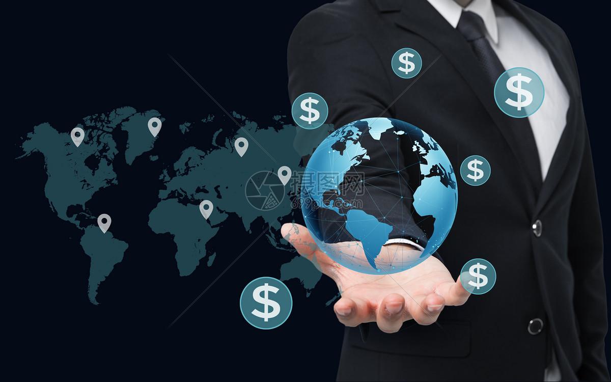 经济全球化_经济全球化图片素材-正版创意图片500546354-摄图网