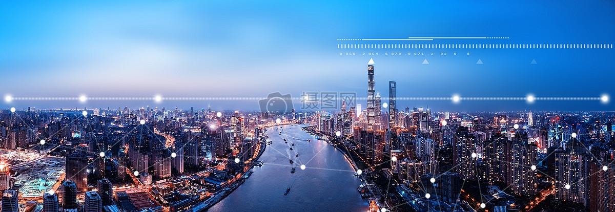 科技城市金融图片