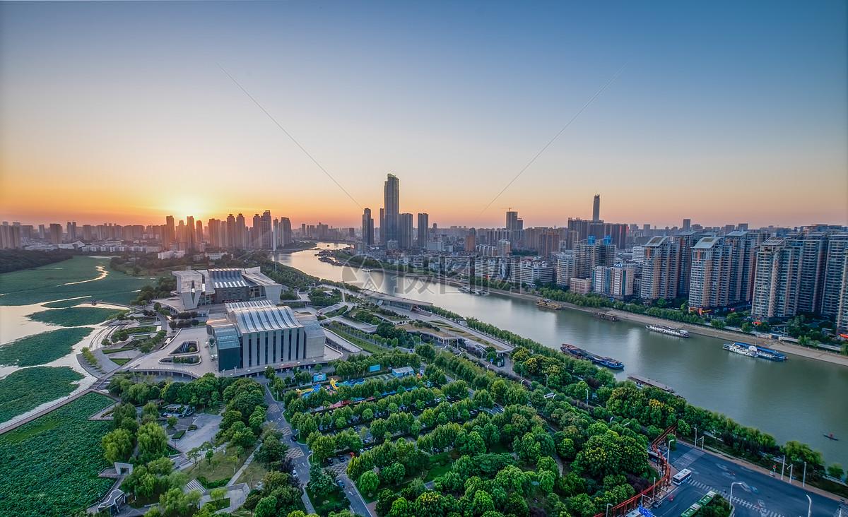 武汉城市风景琴台剧院