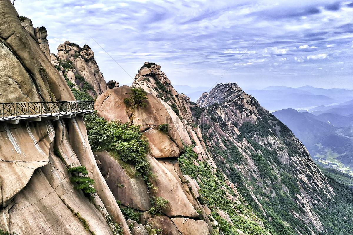 江西灵山峭壁摄影图片免费下载_自然/风景图库大全