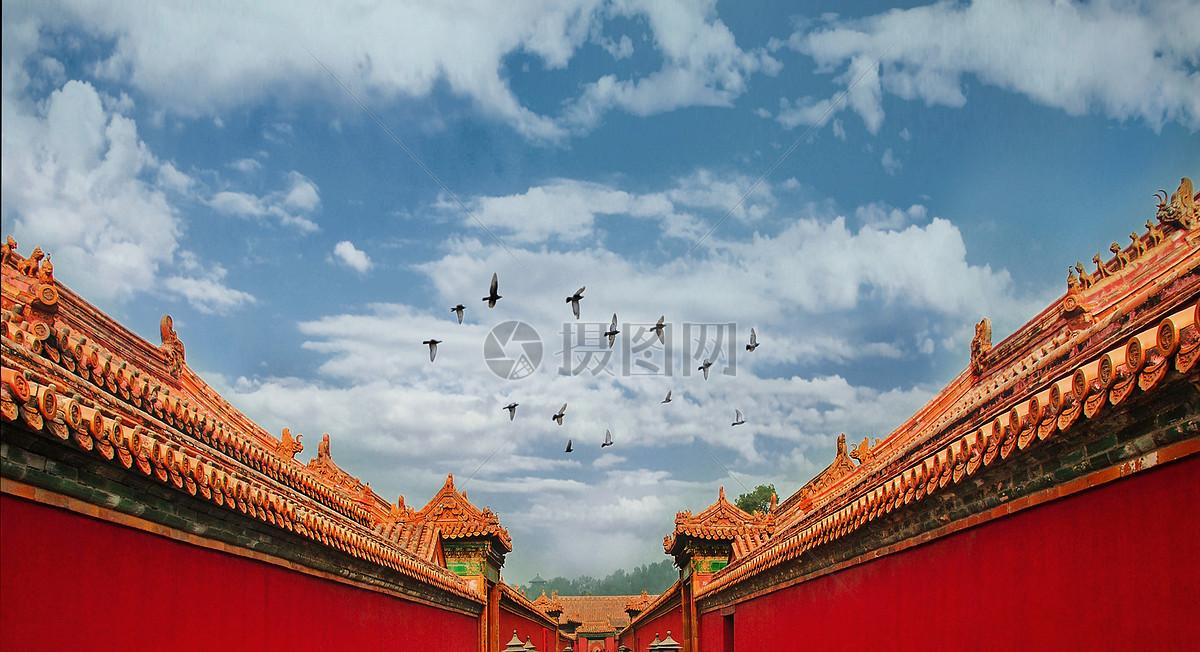 北京故宫紫禁城图片素材_免费下载_jpg图片格式_vrf