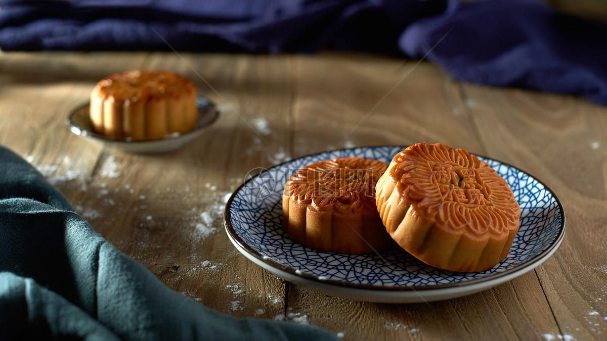 中秋节传统美食月饼