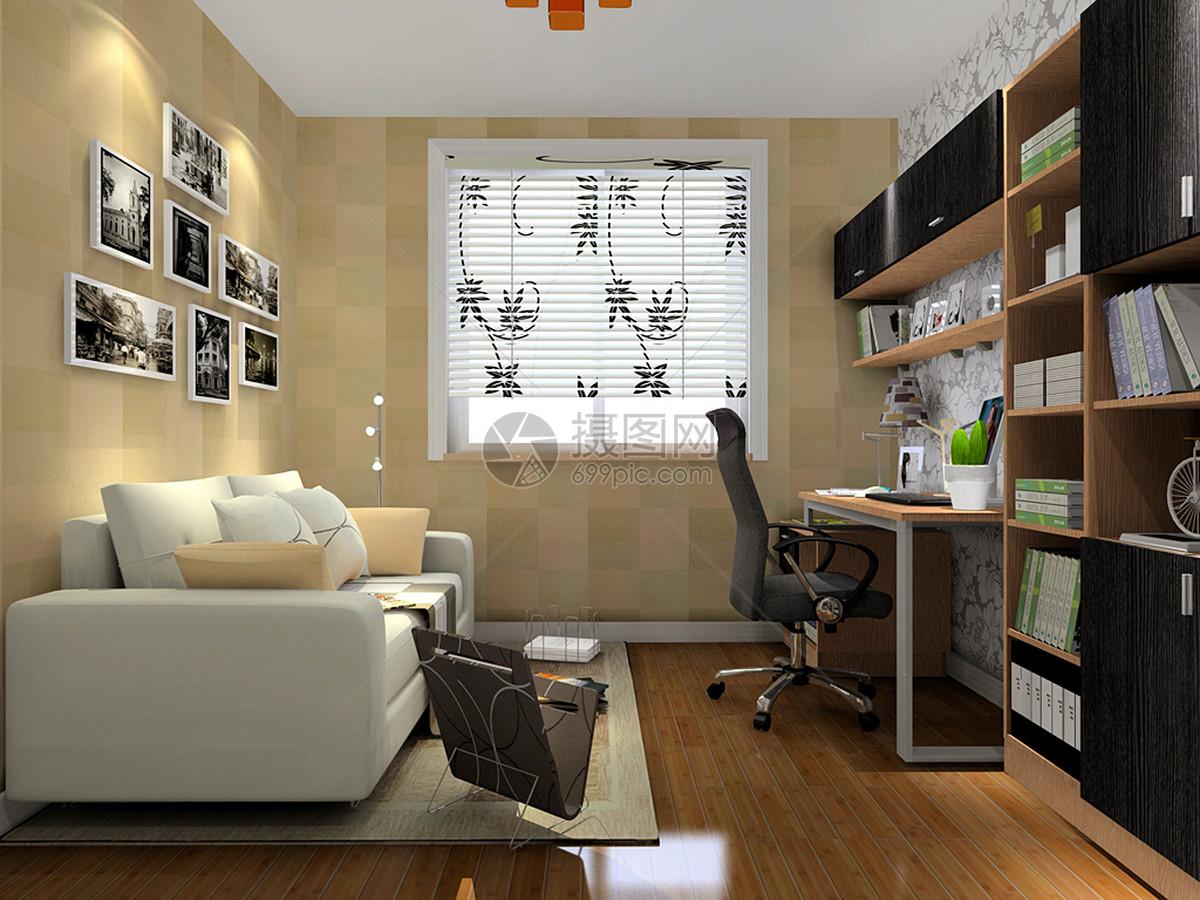 经理办公室经理室沙发组合欧式装修办公桌工装效果图办公室总经理