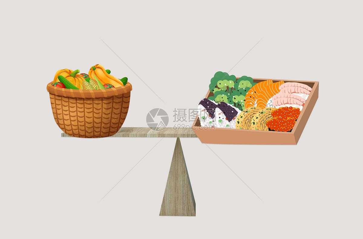 健康饮食天平图片素材_免费下载_jpg图片格式_vrf高清图片500639275