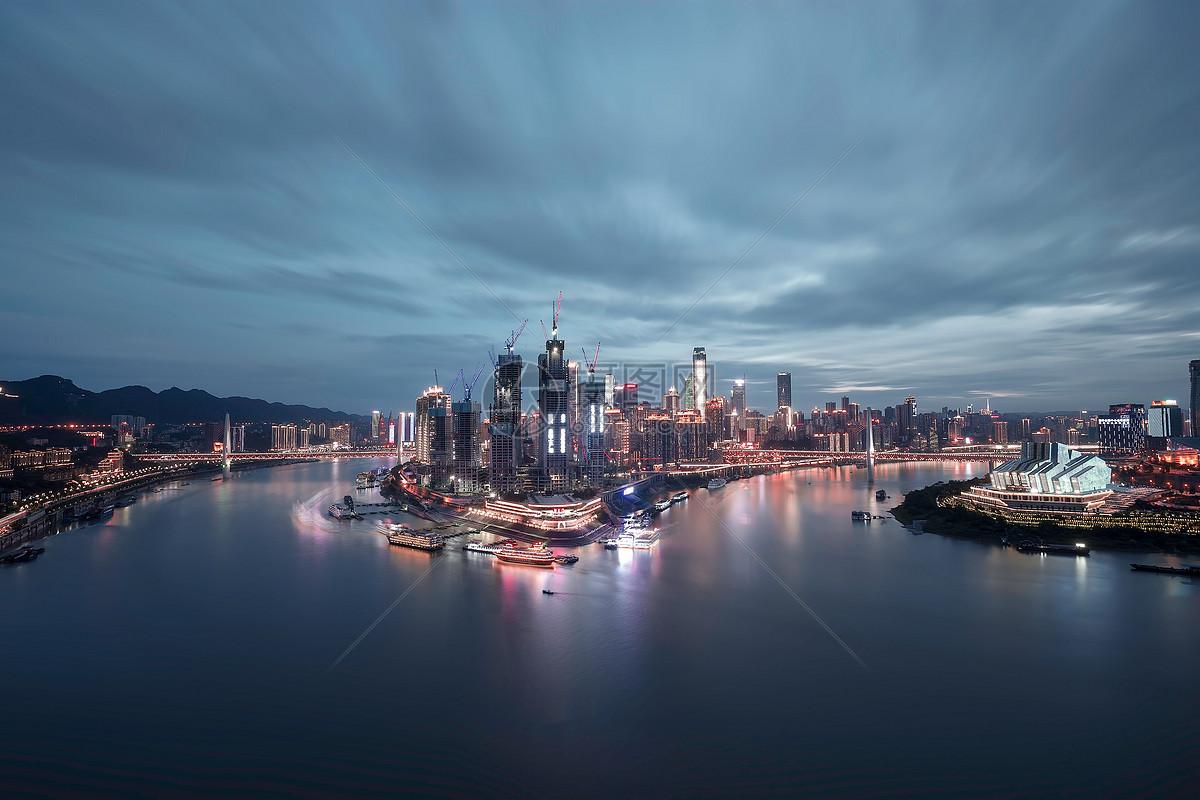 重庆渝中半岛夜景