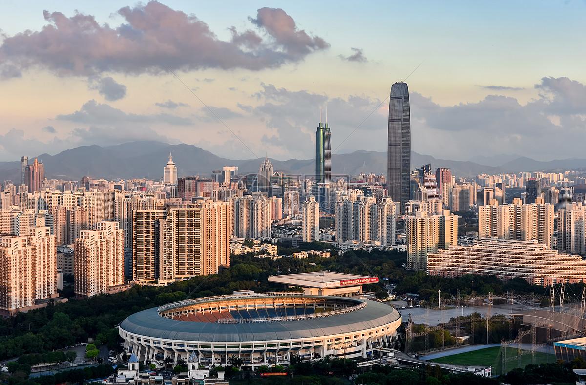 深圳城市建筑风光