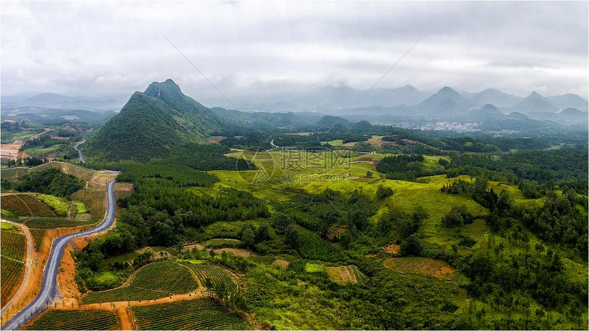 唯美图片 自然风景 远山jpg