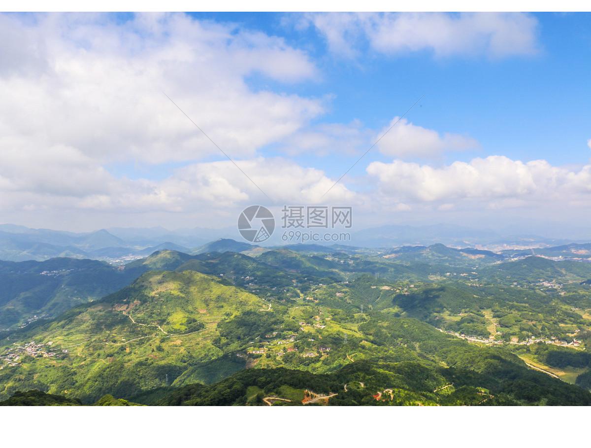 唯美图片 自然风景 天马山一览众山小jpg